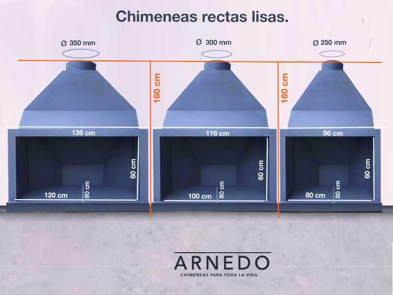 chimenas-hierro-recta-lisa